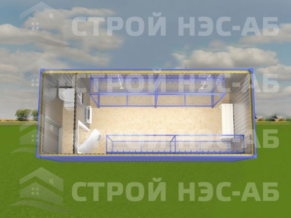 Блок-контейнер Сушилка-003