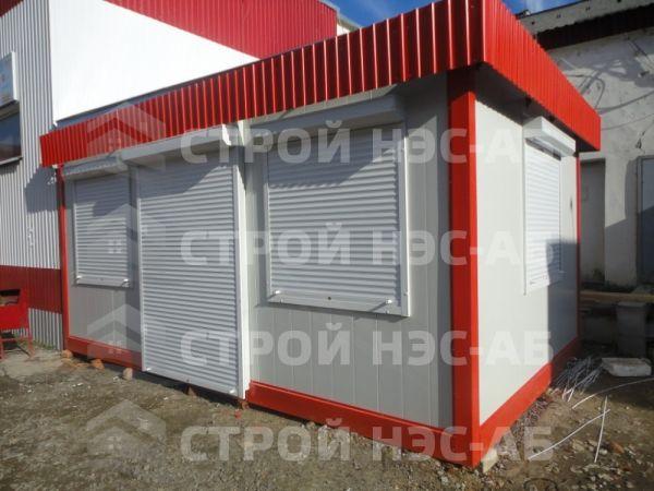 Блок-контейнер БКс-15 размер 3,1х6,2 (распаш) бытовка из сэндвич панелей