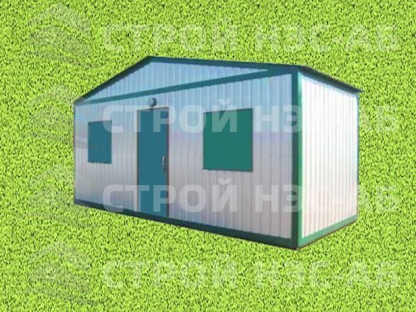Блок-контейнер БКп-058 2,5х12,0 (распаш. тип 8 с кровлей) Мдф/Пвх