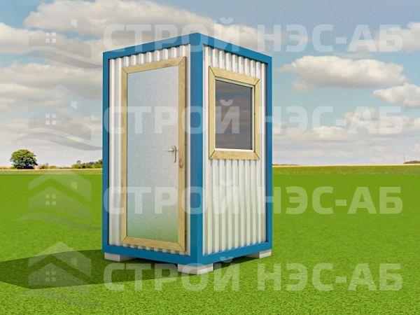 Блок-контейнер БКо-00 1,5х1,5 (без тамбура) Двп