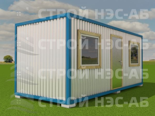Блок-контейнер БКо-057 2,5х12,0 (распаш № 4) Двп