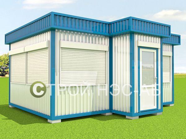 ТП-002  Торговый павильон, размер 6,0х5,0х3,0 (сайдинг)