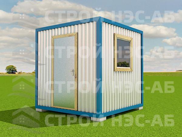 Блок-контейнер БКп-001 2,5х2,5 (без тамбура) Мдф/Пвх