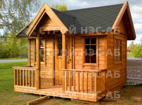 "Садовый домик -006 СД ""Амира"" размер 3,5х4,0"