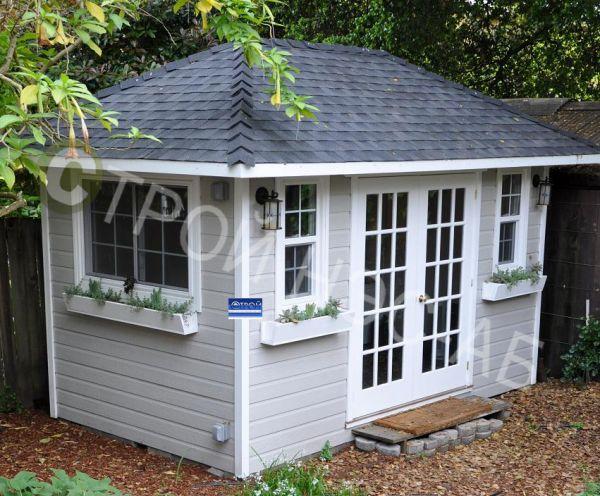 "Садовый домик -022 Сд ""Азиза"" размер 2,5х4,0"